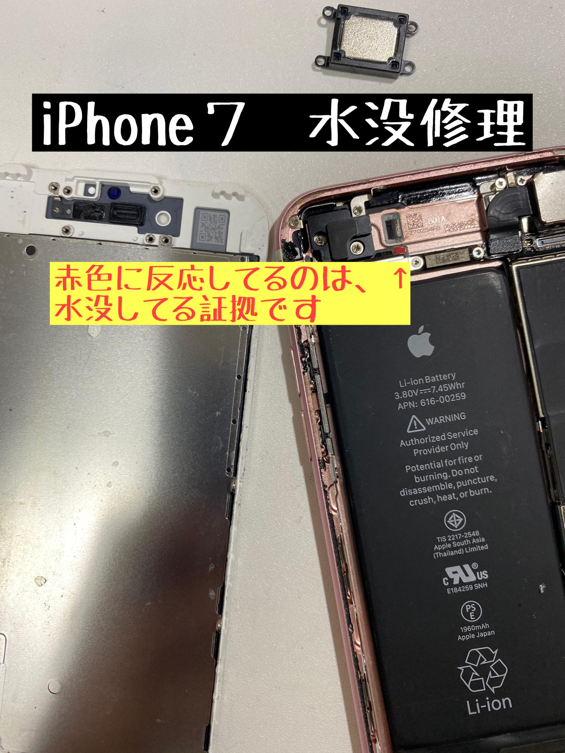 水没修理 スマホ iPhone アイフォン お風呂に落とした トイレに落とした データ消えない